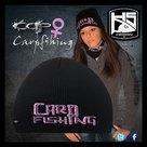 Hotspot design - carp fishing beanie lady