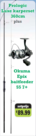 Prologic - Karperhengel 2,75lbs + okuma epix baitfeeder 557