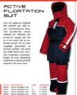 Albatros - Active floatation suit/ drijfpak