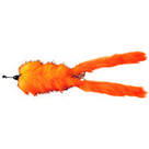 abu garcia -hairy killer 21 gr hot orange tail