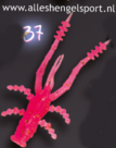 Crazy fish crayfish 4,5cm kleur 37