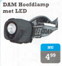 DAM hoofdlamp met led