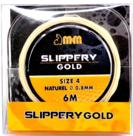 M&M elastiek size 4 mango 0.8mm 6mtr