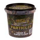 crafty catcher hemp & sweetcorn particles 1,1 l