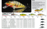 salmo - perch 14m floating  50 gramduikdiepte 3 -6mtr
