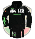 "Hotspot design - Jacket black ""pikefishing"""