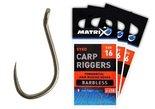 matrix - carp riggers size 16 ghk030