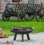 Cookking hapjespan voor vuurschaal 3 kamers 70 cm