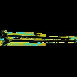 Albatros Karpersteun Zwart 2x60cm