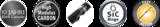 sportex black pearl spin 210 cm 15-29 gram