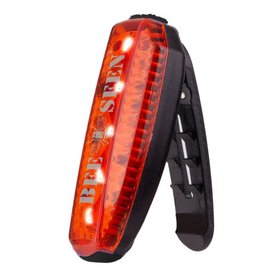 Bee Seen Led Clip Light USB Red