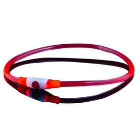 Bee Seen Dog Led Band USB Red