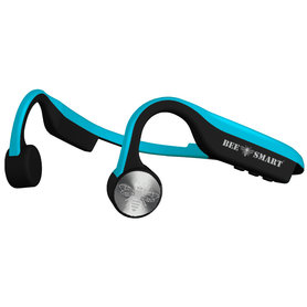 Bee Smart Groove 4.2 Wireless Bone Conduction Headset Blue