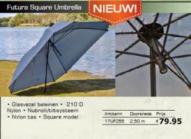 lion futura square umbrella / paraplu