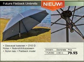 lion futura flatback umbrella / paraplu