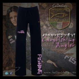 Hotspot design - carp fishing jog pants for women