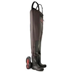 Dunlop Purofort+ Chest Wader Full Safety waadbroek S5 stalen neus