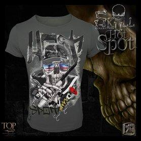Hotspot design - T-shirt Skull Hotspot M/L/XL/XXL