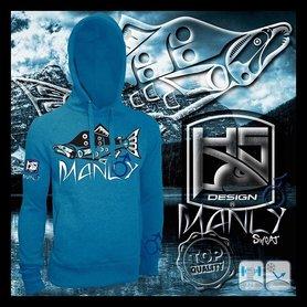 Hotspot design -Sweater Salmon Manly M/L/XL/XXL