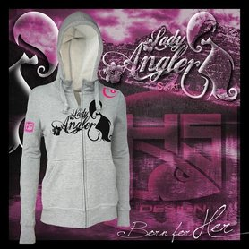 Hotspot design -Sweater lady angler S/M/L/XL