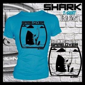 Hotspot design - T-shirt GAME OVER SHARK M/L/XL/XXL