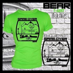 Hotspot design - T-shirt GAME OVER BEAR M/L/XL/XXL