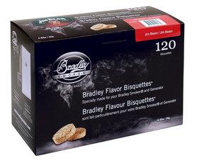 Bradley - BTJB120 JIM BEAM Bisquetten, 120 Stuks