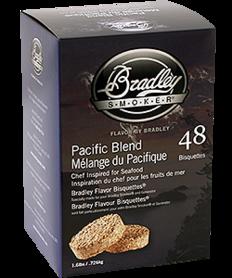 Bradley - BTPB120 PASIFIC BLEND  Bisquetten, 120 Stuks