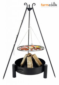 Farmcook grill Viking with fire bowl 33 black steel grate 60/70/80 cm