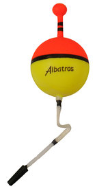 Albatros - Albatros snoekdobber met antenne  20mm 2.5 gr 95400
