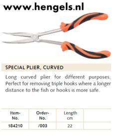 Balzer speciaal tang gebogen 22cm