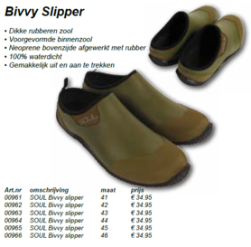 soul -Bivvy slippers mt 43 09636