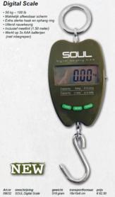Soul -Digital scale 50 kg