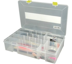 spro - tacklebox transparant 35.5x22.x8cm 6515-900,