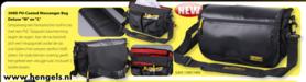 spro - messenger bag deluxe L 300-d pu coated 6203 1400,