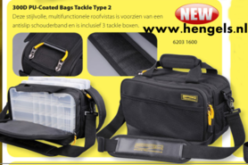Spro - PU coated bag tackle type 2 30x16x20 cm  6203 1600