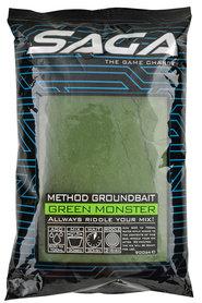 SAGA method groundbait green monster 900 gr