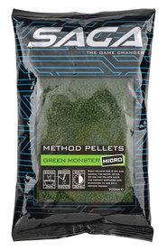 SAGA method pellets green monster micro 700 gr