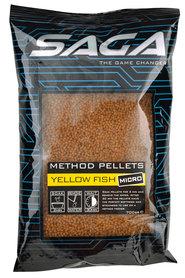 SAGA method pellets yellow fish micro 700 gr