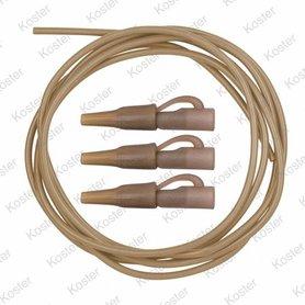 C-TEC Anti Tangle Rig Kits size 8 clips/2M tube (3x)