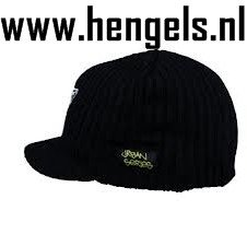 mad urban rasta hat black