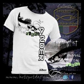 Hotspot design - T-shirt zander M/L/XL/XXL