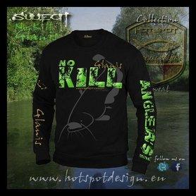 Hotspot design -sweater no kill glanis zwart F-cat
