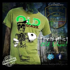 Hotspot design - T-shirt old school groen M/L/XL/XXL