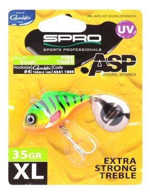 Spro ASP Spinner UV XL 35gr. (fire tiger)