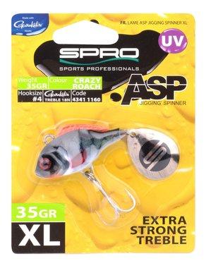 Spro ASP Spinner UV XL 35gr (crazy roach)