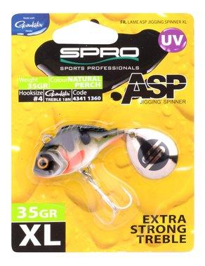 Spro ASP Spinner UV XL 35gr (natural perch)