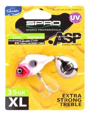 Spro ASP Spinner UV XL 35gr (red head)
