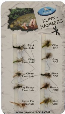 Dragon Std Fly Selection- Klinkhammer (10)