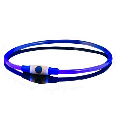 Bee Seen Dog Led Band USB Blue